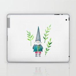 Summer Gnome - Green Leaves Laptop & iPad Skin