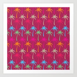 Palm Trees #4 Art Print