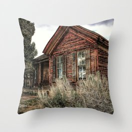 Forgotten House Throw Pillow