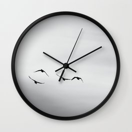 Wild Geese Wall Clock