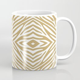 Fallow Neutral Zebra Coffee Mug