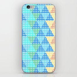 bright tesselation iPhone Skin
