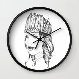 Free Fallin' Wall Clock