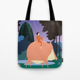Pig boy Tote Bag
