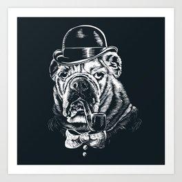 English Gentleman Art Print