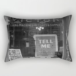 Victor Record Players (Talking machines) Rectangular Pillow