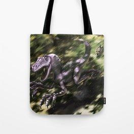 Brave Lizard Tote Bag