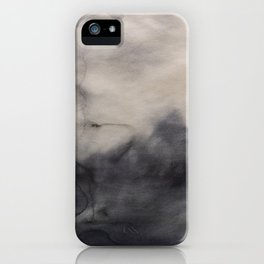 Abstract watercolor #13 - Abstract landscape - Abstract watercolour painting iPhone Case