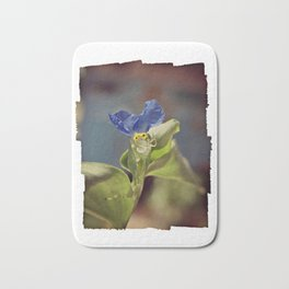 Asiatic dayflower, Commelina communis Bath Mat