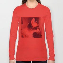 Cat Nick Long Sleeve T-shirt