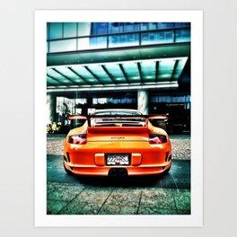 Muy Naranja Art Print