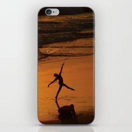 Modern Rio Dancing On the Sand iPhone Skin