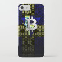 sweden iPhone & iPod Cases featuring bitcoin sweden by seb mcnulty