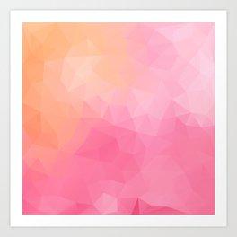 """Tropical fruit juice"" Art Print"