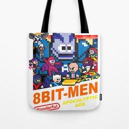 8bit-Men Apocalyptic Age Tote Bag