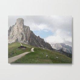 """""""Three peaks of Lavaredo"""" Metal Print"""