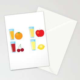 Fruit juices Stationery Cards