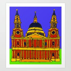St Pauls Cathedral, London Art Print