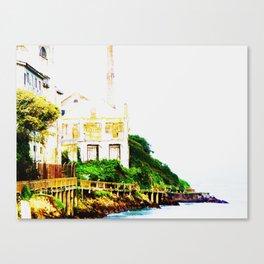 Prison Island Canvas Print
