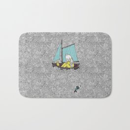Old Man and the Sea Bath Mat