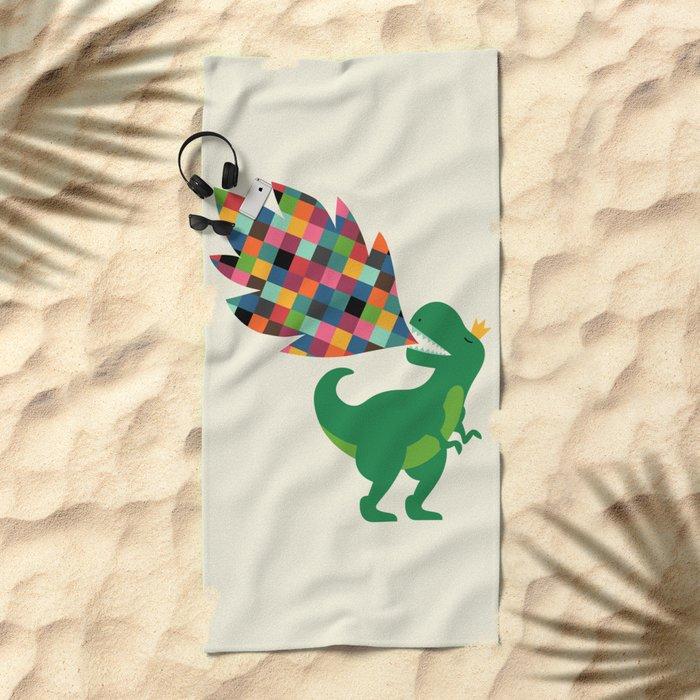 Rainbow Power Beach Towel