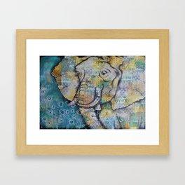 Big Ears Framed Art Print