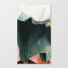 BRKNRFLCTN Canvas Print