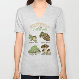 Uncommon Plants Of The Lumberwood Unisex V-Neck