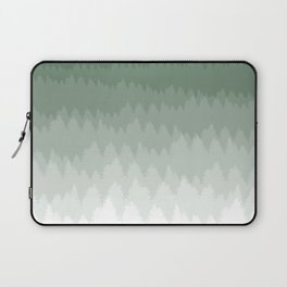 Green Ombré Forest Laptop Sleeve