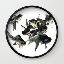 Black Moor Wall Clock