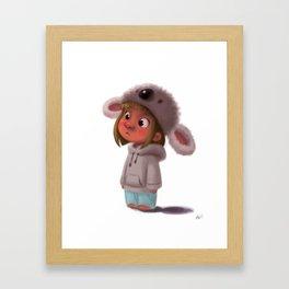 Koala Girl  Framed Art Print