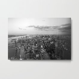One World Trade Center View Metal Print