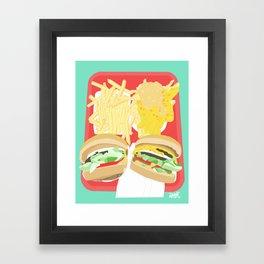 In-N-Out Framed Art Print