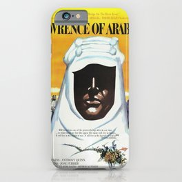 Vintage 1962 Lawrence of Arabia Movie Lobby Poster iPhone Case