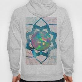 Psychedelic Crystal Lotus 2 Hoody