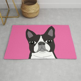 Boston Terrier Lilly Rug