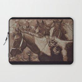 Gypsy Cobs / Horses Laptop Sleeve