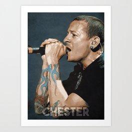 Chester Art Print