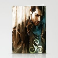 derek hale Stationery Cards featuring Derek Hale * Tyler Hoechlin  by AkiMao
