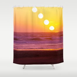 Outer Sunset Shower Curtain