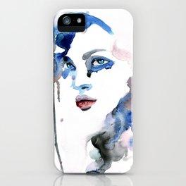 Elina Three iPhone Case