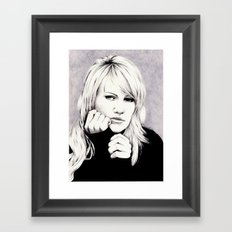 DUFFY - I'M SCARED Framed Art Print