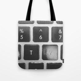 Mac Keyboard Tote Bag