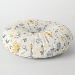 Mystic, Third Eye, Palmistry Floor Pillow