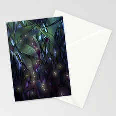 Nocturne with Fireflies Stationery Cards