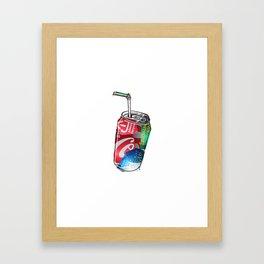 cola Framed Art Print