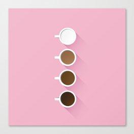 Coffee + Simplicity Canvas Print