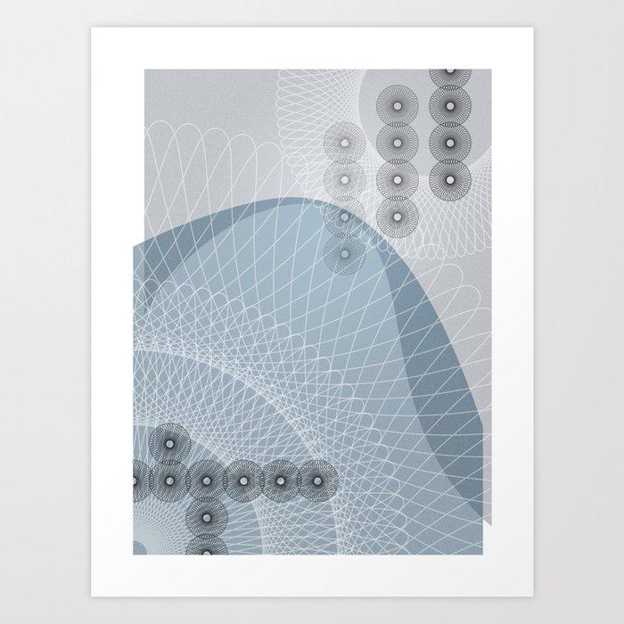 The Blue Wave Art Print
