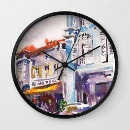 20140331 Amoy Street Singapore Wall Clock