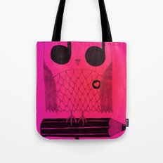 Owl Night Long Tote Bag